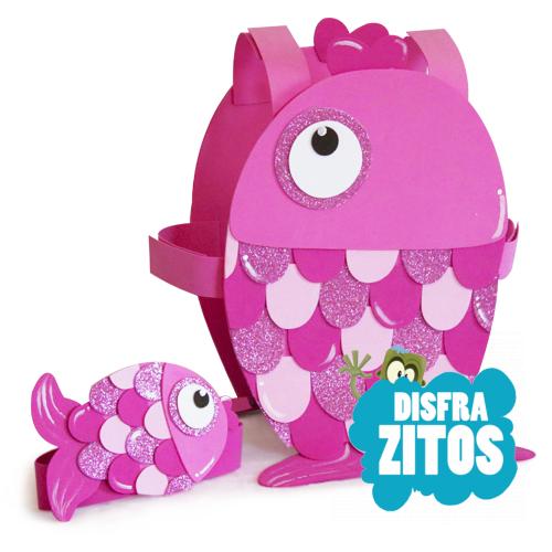 disfraz pez rosa goma eva On como hacer un pez con goma eva